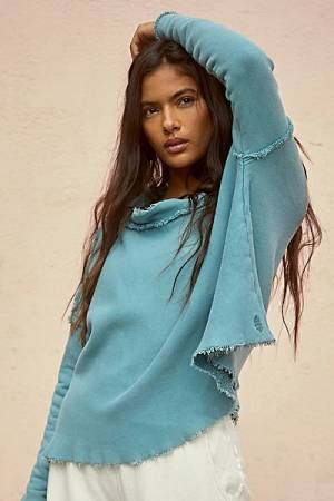 "Free People Activewear ""Free Spirit Hoodie Top"""