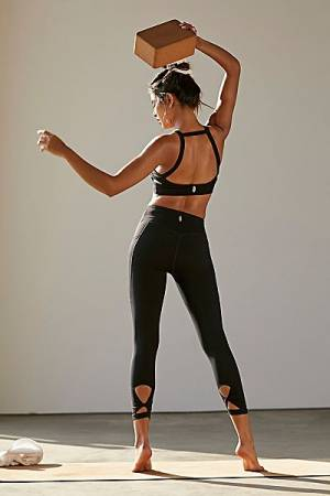 "Free People Movement Activewear Workout Leggings ""Wave Rider"""