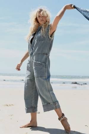 "OneTeaspoon Denim Jumpsuit ""Country Camp Overalls"""