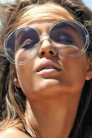 "Chloé Oversize Round Sunglasses ""Carlina"""