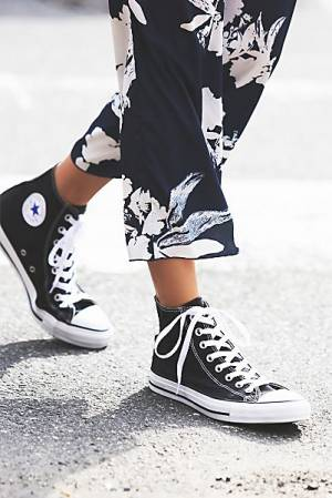 Converse Black Charlie Hi Top Sneakers