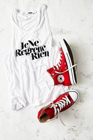 Converse Red Charlie Hi Top Sneakers