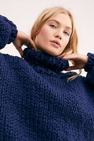 "Loopy Mango Sweater ""Her Turtleneck"""