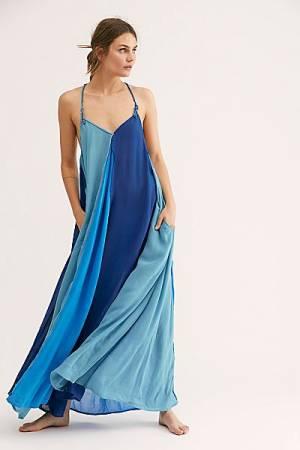 "Free People Maxi Dress ""Ocean"""