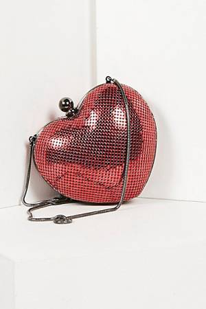 Whiting & Davis Have My Heart Crossbody Bag