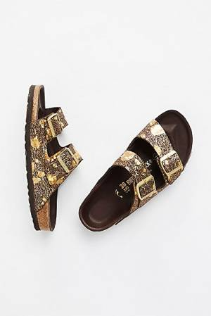 "Birkenstock Sandals ""Arizona Lux Metallic"""