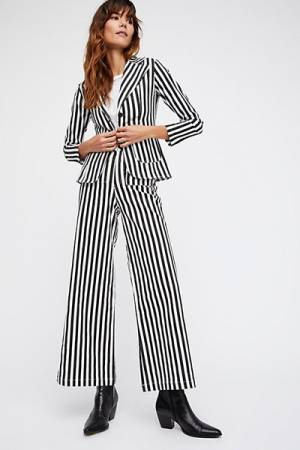 Sugarhigh Lovestoned Striped Twill Suit