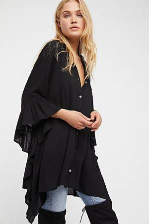 "Free People Tunic Top ""Love Is"""