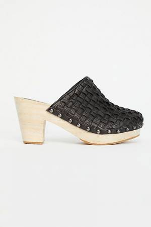 Free People FP Collection Braided Leather Clog