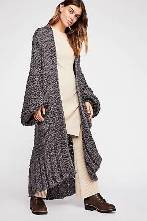 """Loopy Mango Chunky Knit Coat """"Rockstar"""""""