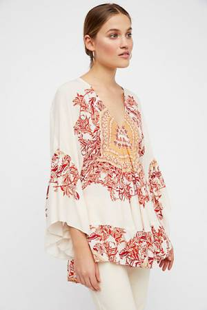 Free People Sunset Dreams Tunic Top