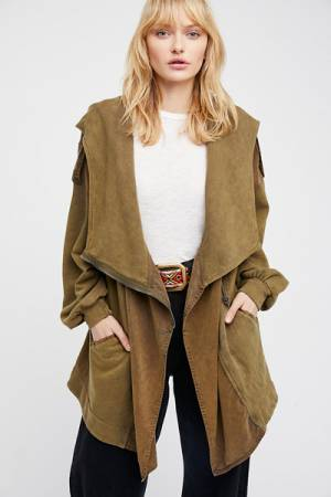 Free People Slouchy Cardigan Jacket