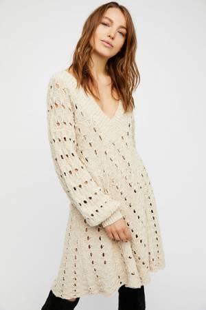 Free People Mia Sweater Mini Dress