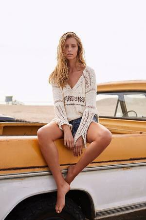 Free People Belong To You Knit Sweater