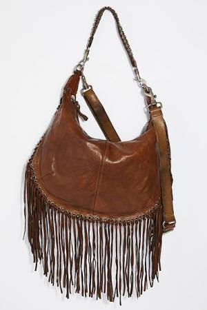 Campomaggi Taranto Distressed Leather Hobo Bag