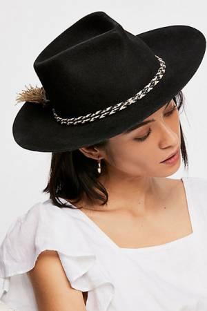 Free People Distressed Felt Boho Hat