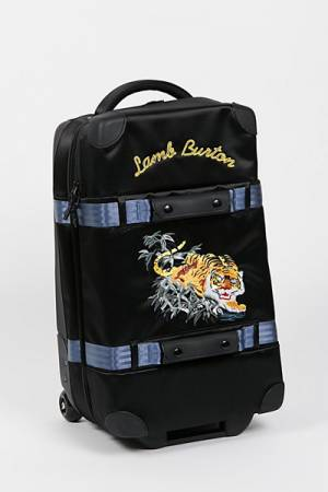 Burton Wheelie Flight Deck Carry-On Suitcase