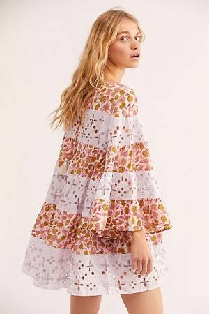 "Free People Bohemian Mini Dress Set ""Electric Daisy"""