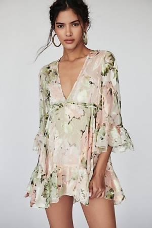 "alice McCall Floral Mini Dress ""Little Juliet"""