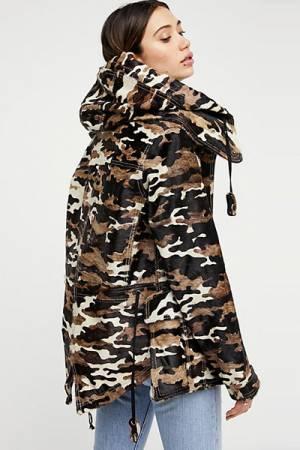 Nicholas K Mini Camo Parka Jacket