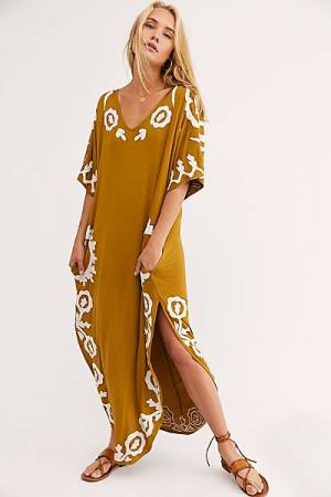 "Free People Maxi Dress ""Laguna Surf Tee"""