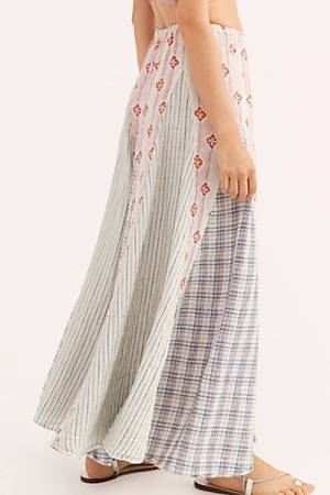 "CP Shades Maxi Skirt ""Patchwork"""