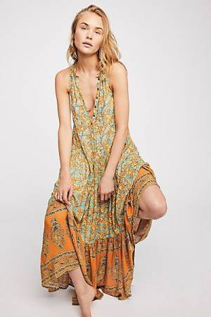 "Spell Bohemian Maxi Dress ""Delirium"""