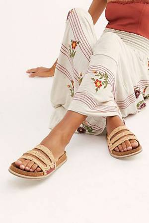 "Free People Sandals ""Crete Footbed"""