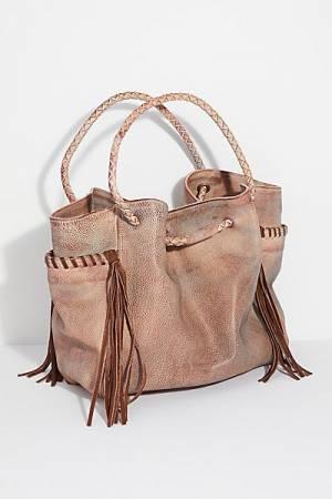 "Free People Distressed Boho Tote Bag ""Sedona"""