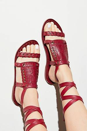 Free People Andies Bohemian Wrap Sandal