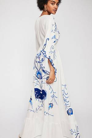 "Fillyboo Bohemian Kimono Maxi Dress ""Strange Magic"""