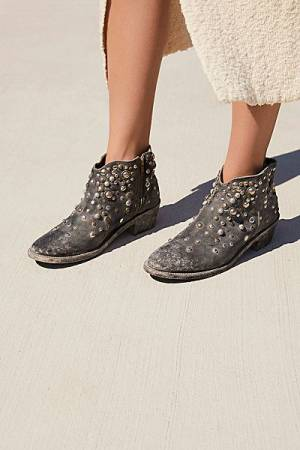 "Faryl Robin + Free People Western Ankle Boot ""Vista Stud"""