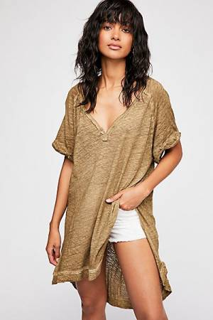 "Free People Oversize Tee ""Diego"" We The Free Top"