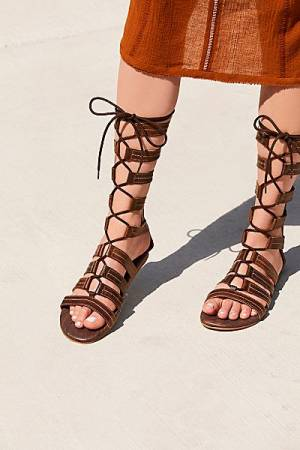 "Roan Gladiator Sandal ""Washed Ashore"""