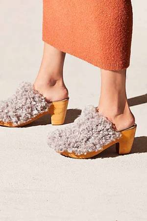 "Free People Clogs ""Cabin Fever"" Boho Shoes"