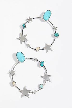 "Paloma Stipp Boho Hoop Earrings ""Find Your Stars"""
