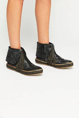"""Free People Moccasin Ankle Boot """"Vega"""" FP Collection"""