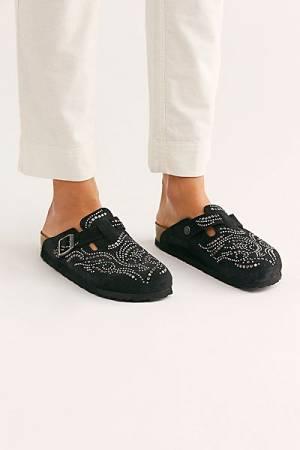 "Birkenstock Clog Sandals ""Boston Rivet"""