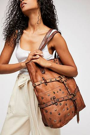 "Free People Studded Tote Bag ""Salina"""