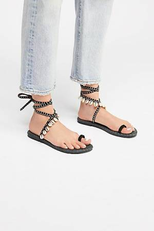 "Free People Boho Wrap Sandal ""Croatia"" FP Collection"