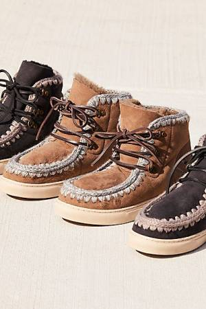 "MOU Boots ""Eskimo"" Lace-Up Sneaker"