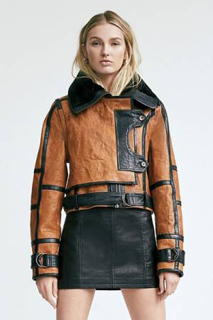 "Nicholas K Leather Jacket ""Tanner"""