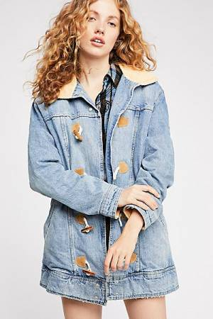 "Free People Denim Jacket ""Coastal"""