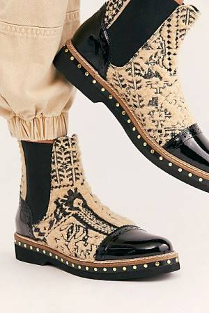 "Free People Boots ""Textile Atlas Chelsea"""