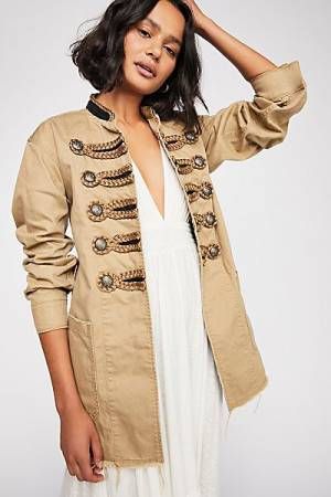 "Free People Military Jacket ""Passenger"""