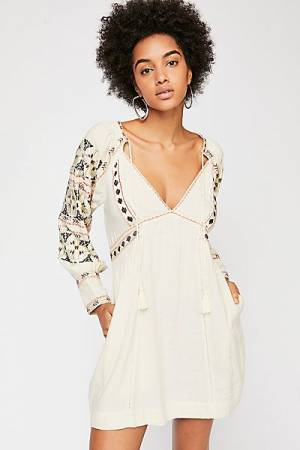 "Free People Boho Mini Dress ""All My Life"""
