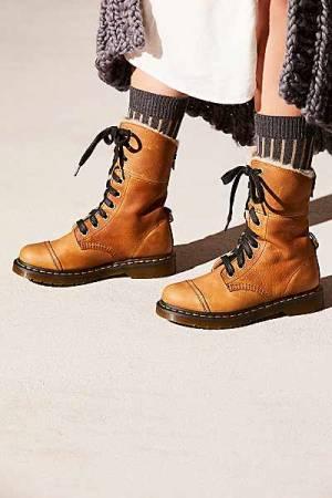 "Dr. Martens Boots ""Aimlita"" Moto Style"