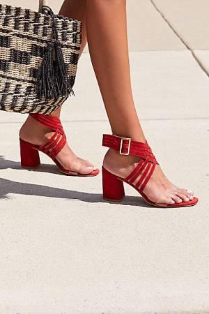 "Free People Block Heel Sandals ""Lina"""