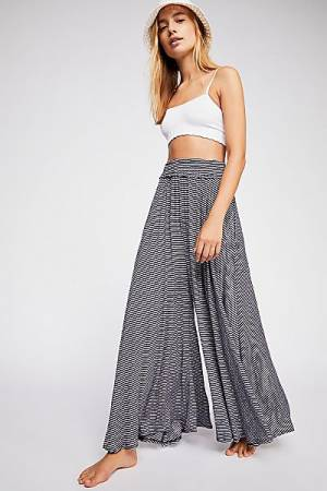 "Free People Pants ""Summer Crush"" Stripes"