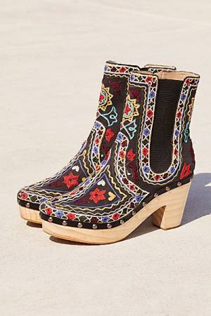"""Free People Clog Boots """"West Johanna"""" FP Collection Shoes"""
